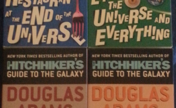 The Hitchhikers Guide to the Galaxy parts 2-5 – Douglas Adams