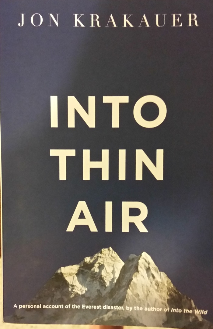 Into Thin Air – Jon Krakauer