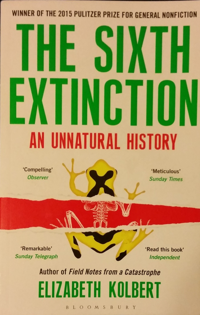 The 6th Extinction – Elizabeth Kolbert