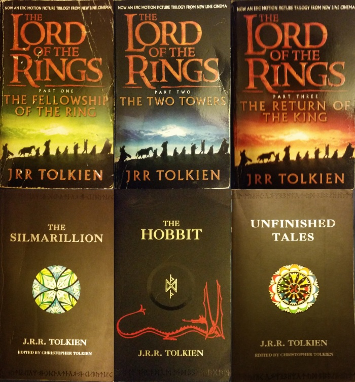 The works of J.R.R.Tolkien