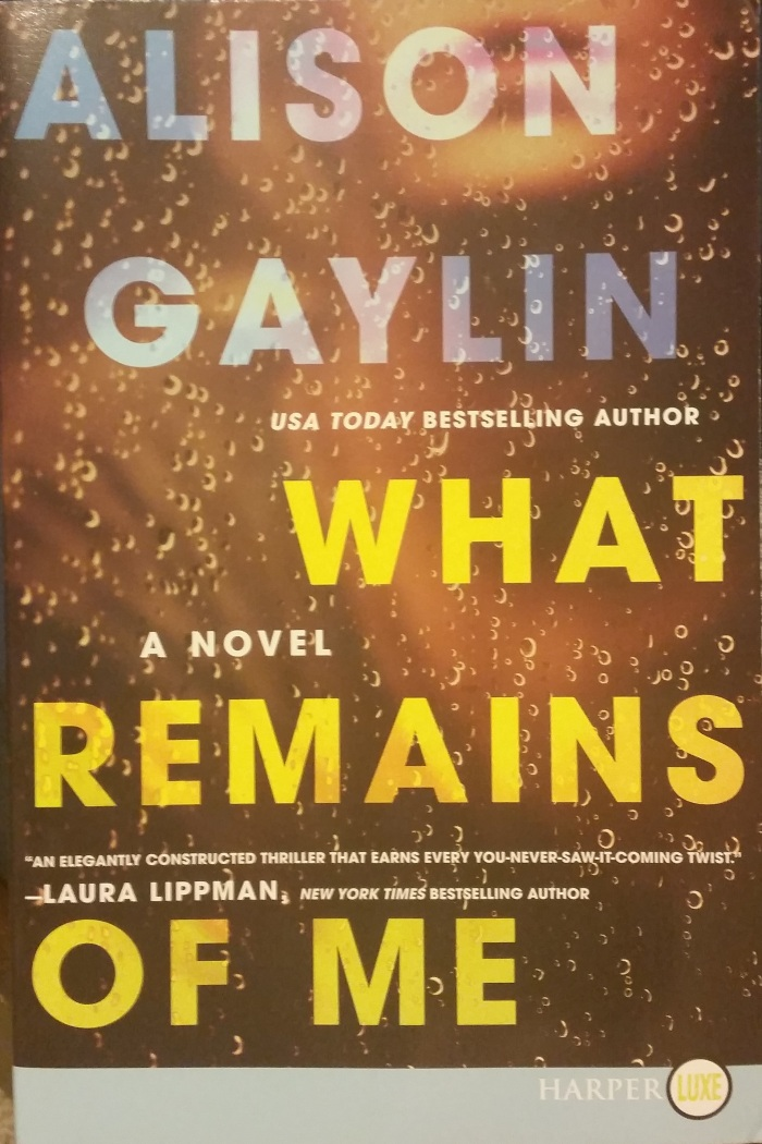 What Remains Of Me – AlisonGaylin